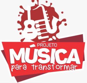 Logotipo do Projeto Música para Transformar. Fonte?