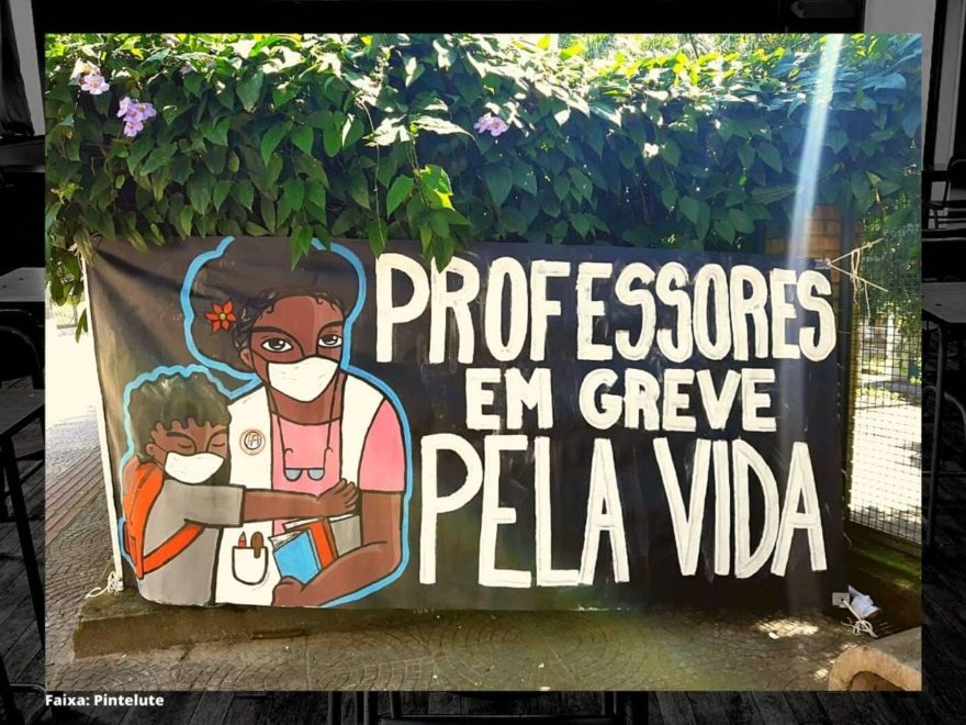 Docentes em greve na Escola Padre Anchieta divulgam carta às famílias sobre  risco sanitário - Repórter Popular - O Povo Tem Voz